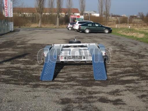Dvouosý brzděný přívěs k přepravě automobilů PM 2,7t** č.8