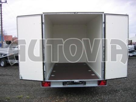 Skříňový přívěs za osobní auto ZV 31 750kg N1 3,00x1,55/1,50** č.2