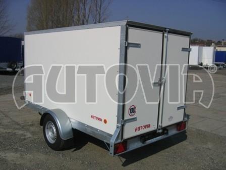 Skříňový přívěs za osobní auto ZV 31 750kg N1 3,00x1,55/1,50** č.1