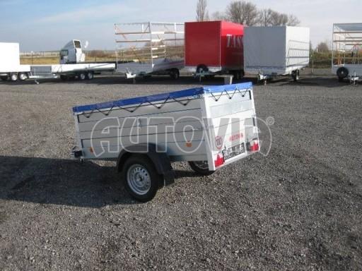 Nejlevnější přívěsný vozík za osobní auto HD 3 750kg 2,07x1,10/0,70 nástavba** č.3