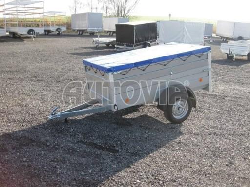 Nejlevnější přívěsný vozík za osobní auto HD 3 750kg 2,07x1,10/0,70 nástavba** č.4