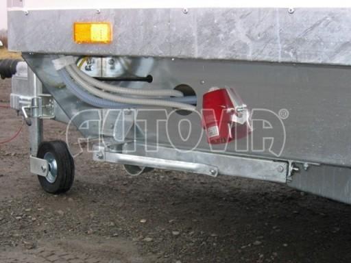 Přívěsný vozík (prodejní stánek) EW 2,5T 4,10x2,20/2,30 č.5