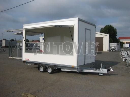 Přívěsný vozík (prodejní stánek) EW 2,5T 4,10x2,20/2,30 č.4