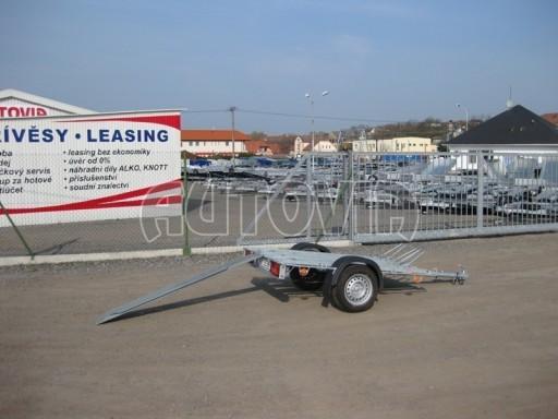 Přívěsný vozík pro přepravu motocyklů MOTO 750kg 2,06x1,09* č.20