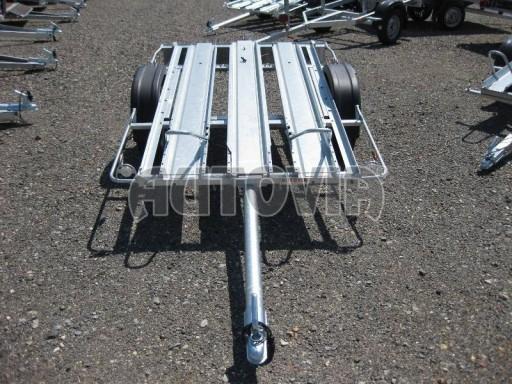 Přívěsný vozík pro přepravu motocyklů MOTO 750kg 2,06x1,09* č.19