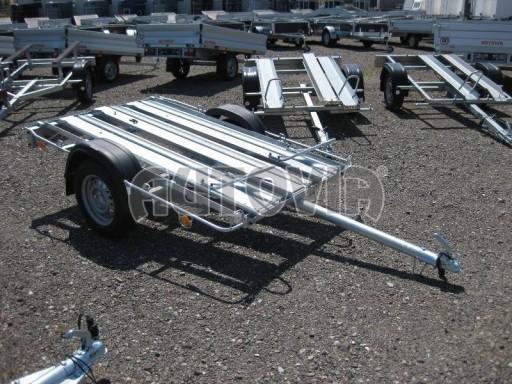Přívěsný vozík pro přepravu motocyklů MOTO 750kg 2,06x1,09* č.18