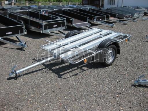 Přívěsný vozík pro přepravu motocyklů MOTO 750kg 2,06x1,09* č.21
