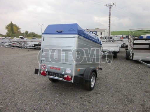 Přívěsný vozík za osobní auto HD 3 750kg 2,07x1,10/1,20 2ks nástavba víko** č.4