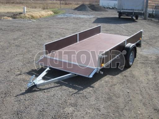 Přívěs za osobní auto PV 750kg N1 3,03x1,53/0,30 zes. náprava č.3