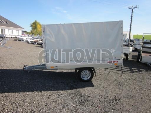 Přívěsný vozík za osobní auto ZV 22 750kg N1 2,55x1,50/1,35** č.2