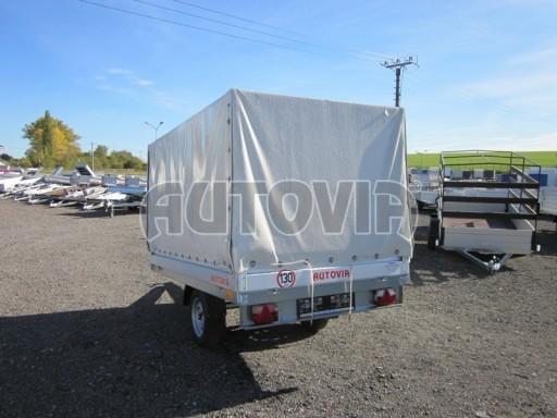 Přívěsný vozík za osobní auto ZV 22 750kg N1 2,55x1,50/1,35** č.4
