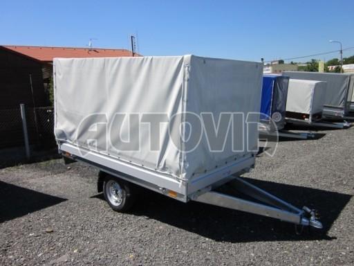 Přívěsný vozík za osobní auto ZV 22 750kg N1 2,55x1,50/1,35** č.5