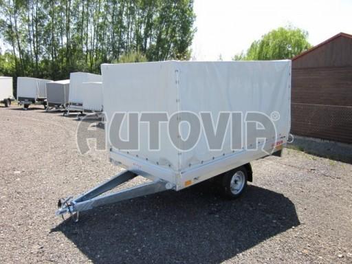 Přívěsný vozík za osobní auto ZV 22 750kg N1 2,55x1,50/1,35** č.1