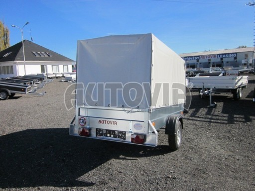 Přívěs za osobní auto s plachtou PN 26 750kg 2,65x1,24/1,56** č.4