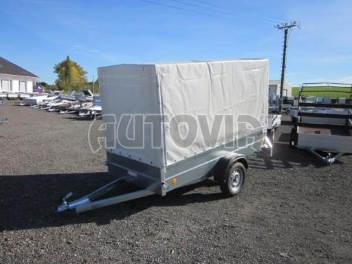 Přívěs za osobní auto s plachtou PN 26 750kg 2,65x1,24/1,56** č.5