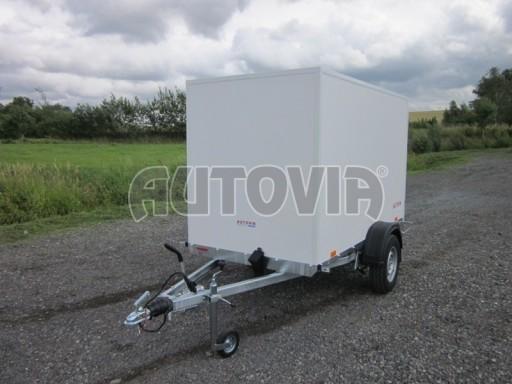 Prachotěsný skříňový přívěs VA 1,3T B1 2,48x1,23/1,46 č.1