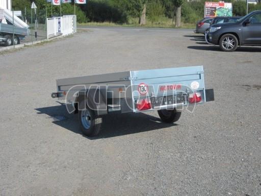 Nejlevnější přívěsný vozík za osobní auto HB 2 N1 2,07x1,11/0,30 č.4
