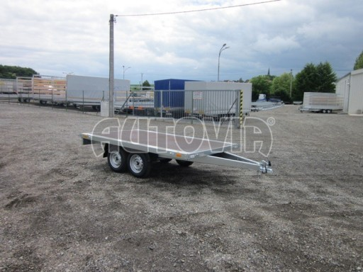 Přívěsný vozík dvounápravový ZV 32 750kg N2 3,00x1,80 13
