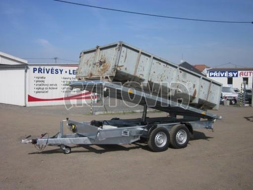 Nosič kontejnerů + třístranný sklápěč PHT 3,5T 4,18x2,10** č.1