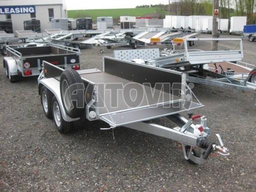 Dvouosý brzděný nákladní přívěs ZV 26B2 2,0t 2,5/1,24/0,35** č.3