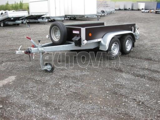 Dvouosý brzděný nákladní přívěs ZV 26B2 2,0t 2,5/1,24/0,35** č.9