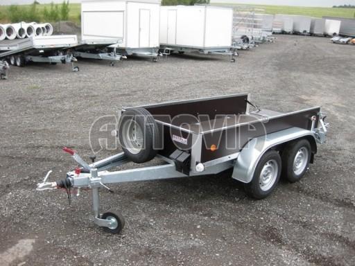 Dvouosý brzděný nákladní přívěs ZV 26B2 2,0t 2,5/1,24/0,35** č.10
