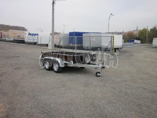 Dvouosý brzděný nákladní přívěs ZV 26B2 2,0t 2,5/1,24/0,35** č.16