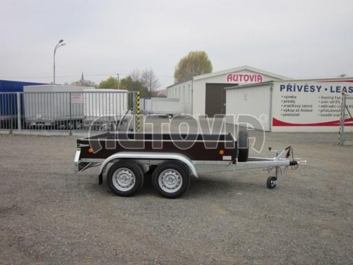 Dvouosý brzděný nákladní přívěs ZV 26B2 2,0t 2,5/1,24/0,35** č.17
