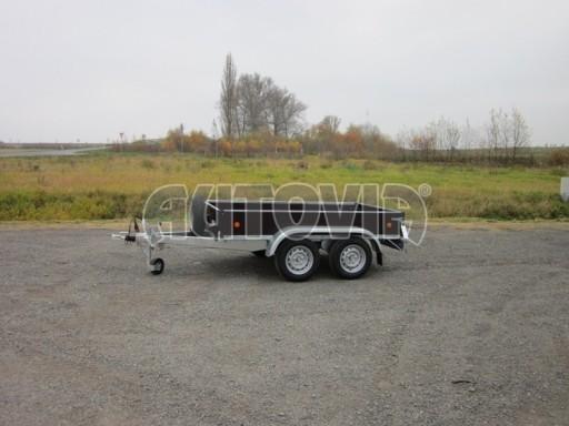 Dvouosý brzděný nákladní přívěs ZV 26B2 2,0t 2,5/1,24/0,35** č.23