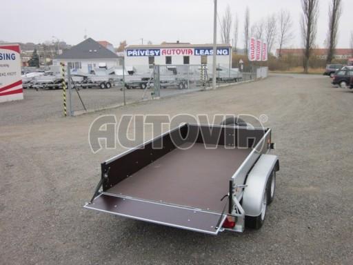 Dvouosý brzděný nákladní přívěs ZV 26B2 2,0t 2,5/1,24/0,35** č.25