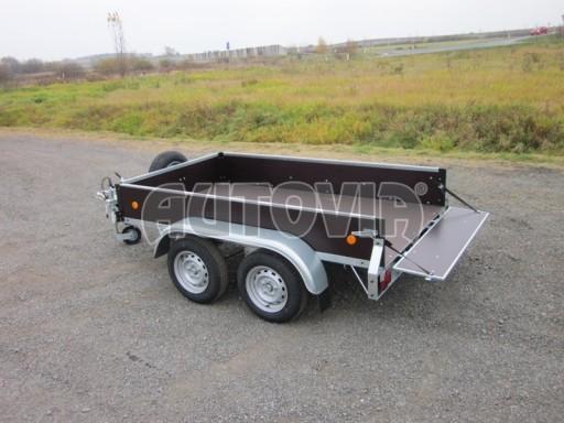 Dvouosý brzděný nákladní přívěs ZV 26B2 2,0t 2,5/1,24/0,35** č.27
