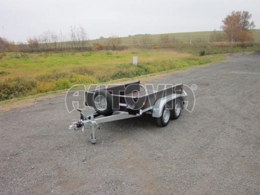 Dvouosý brzděný nákladní přívěs ZV 26B2 2,0t 2,5/1,24/0,35** č.28
