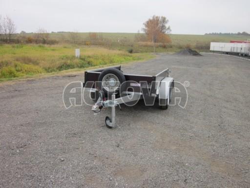 Dvouosý brzděný nákladní přívěs ZV 26B2 2,0t 2,5/1,24/0,35** č.29