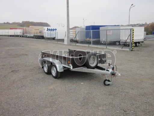 Dvouosý brzděný nákladní přívěs ZV 26B2 2,0t 2,5/1,24/0,35** č.30