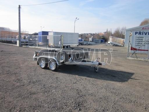 Dvouosý brzděný nákladní přívěs ZV 26B2 2,0t 2,5/1,24/0,35** č.31