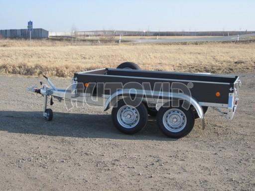 Dvouosý brzděný nákladní přívěs ZV 26B2 2,0t 2,5/1,24/0,35** č.34