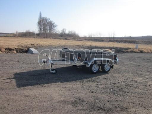 Dvouosý brzděný nákladní přívěs ZV 26B2 2,0t 2,5/1,24/0,35** č.35
