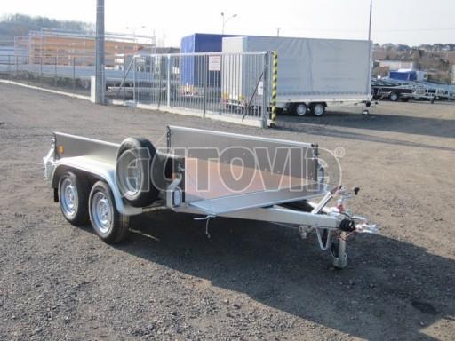 Dvouosý brzděný nákladní přívěs ZV 26B2 2,0t 2,5/1,24/0,35** č.39