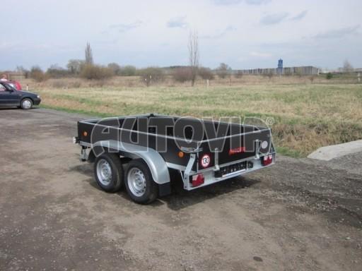 Dvouosý brzděný nákladní přívěs ZV 26B2 2,0t 2,5/1,24/0,35** č.43
