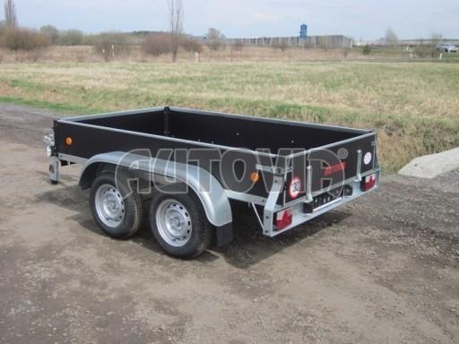 Dvouosý brzděný nákladní přívěs ZV 26B2 2,0t 2,5/1,24/0,35** č.45
