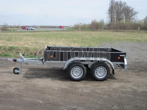 Dvouosý brzděný nákladní přívěs ZV 26B2 2,0t 2,5/1,24/0,35** č.46