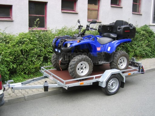 Nebrzděný přívěs HS75 zahradní mechanizace 2,50/1,25 č.3