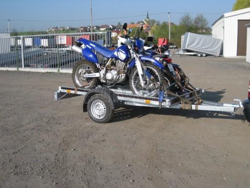 Jednoosý nebrzděný přívěs pro převoz čtyřkolek MOTO 750/2,06/1,09** č.5