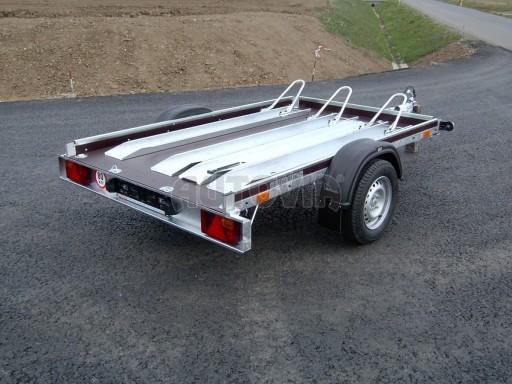 Jednoosý nebrzděný přívěs pro převoz čtyřkolek MOTO 750/2,06/1,09** č.6