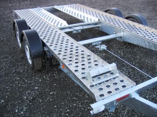 Dvouosý brzděný přívěs k přepravě automobilů PA 2,0 č.2
