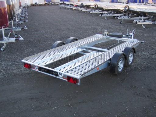Dvouosý brzděný přívěs k přepravě automobilů PA 2,0 č.3