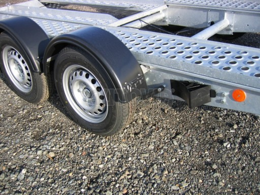 Dvouosý brzděný přívěs k přepravě automobilů PA 2,0 č.6