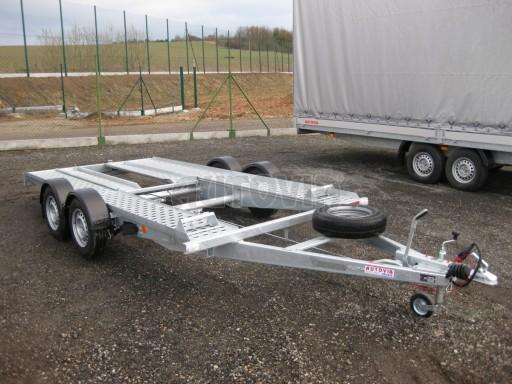 Dvouosý brzděný přívěs k přepravě automobilů PA 2,0 č.9