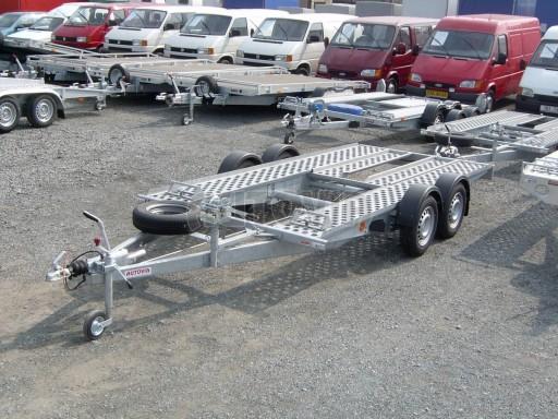 Dvouosý brzděný přívěs k přepravě automobilů PA 2,0 č.10