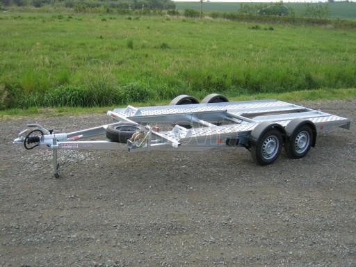 Dvouosý brzděný přívěs k přepravě automobilů PA 2,0 č.12